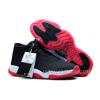 New Air Jordan Future Black/Varsity Red-White Online