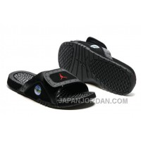 2018 Jordan Hydro 13 Slide Sandals Black/Gym Red Top Deals