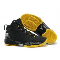 New Jordan Melo M10 Black Yellow Shoes Free Shipping