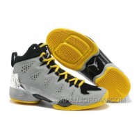 New Jordan Melo M10 Metallic Silver Black/Volt For Sale