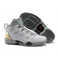 New Jordan Melo M10 White Gray Custom Free Shipping