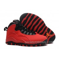 "New Air Jordan 10 Retro ""Fusion Red"" Super Deals"