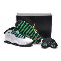 "New Air Jordan 10 GS ""Verde"" For Sale Online"