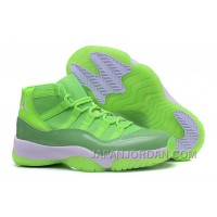 "2018 Air Jordan 11 GS ""Neon Green"" PE Top Deals"