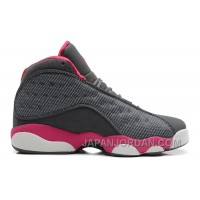 New Air Jordan 13 GS Cool Grey/Fusion Pink-White Online