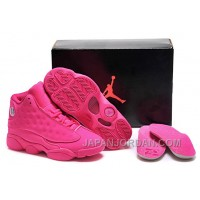 New Air Jordan 13 GS All-Pink Shoes Lastest
