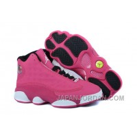 New Air Jordan 13 GS Fusion Pink/Black-White Discount
