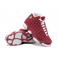 New Air Jordan 13 GS Suede Red White For Sale