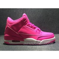 "2018 Air Jordan 3 GS ""Vivid Pink"" For Sale"