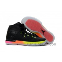 2018 Air Jordan XXX1 GS Rainbow Black Pink Volt New Release