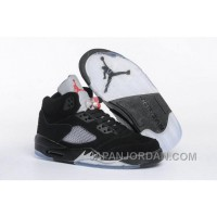 "2018 Air Jordan 5 GS ""Black Metallic"" Cheap To Buy"