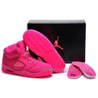 New Air Jordan 5 GS All-Pink Shoes Discount