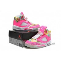 New Air Jordan 5 GS Pink Cherry Blossom Online