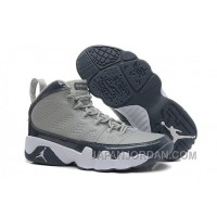 New Air Jordan 9 Retro Medium Grey/Cool Grey-White Cheap To Buy