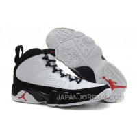 New Air Jordan 9 Retro White/Black-True Red Super Deals