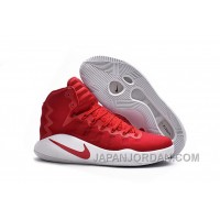 Nike Hyperdunk 2016 GS University Red/White/University Red Authentic