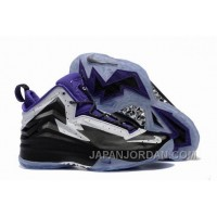 New Jordan Air Spike 40 Forty PE Black Purple White Cheap To Buy