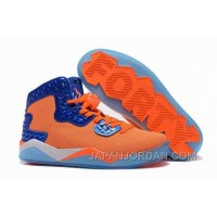 "New Jordan Air Spike 40 Forty PE ""Total Orange"" Total Orange/Game Royal-White Discount"