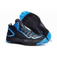 New Jordan Super.Fly 2 PO Black-Dark Powder Blue For Sale