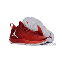 New Jordan Super.Fly 5 Gym Red/Infrared 23/White Free Shipping