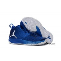 New Jordan Super.Fly 5 Game Royal/Photo Blue/White Authentic