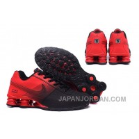 NIKE SHOX DELIVER 809 Red Black For Sale