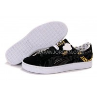 Mens Puma Basket Brights YoYo Black Gold 送料無料