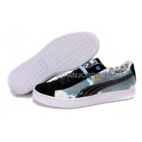 Mens Puma Basket Brights YoYo Black Gray White 送料無料