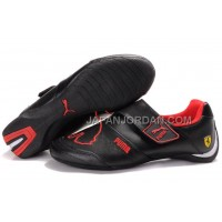 Mens Puma Baylee Future Cat II 704 Black Red 送料無料