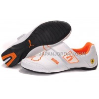 Mens Puma Baylee Future Cat II 704 White Orange 送料無料