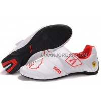 Mens Puma Baylee Future Cat II 704 White Red 送料無料