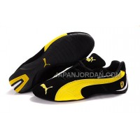 Mens Puma BMW Shoes Black Yellow 送料無料