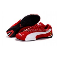 Mens Puma BMW Shoes Red White 割引販売