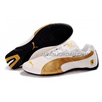 Mens Puma BMW Shoes White Gold 送料無料