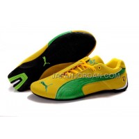 Mens Puma BMW Shoes Yellow Green 送料無料