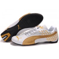 Mens Puma Cattle Years White Gold 送料無料