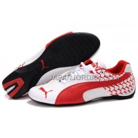 Mens Puma Cattle Years White Red 送料無料