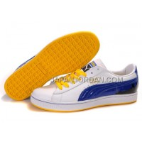 Mens Puma City Series White Blue Green 送料無料