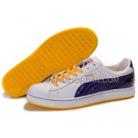 Mens Puma City Series White Purple Yellow 送料無料