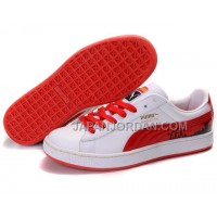 Mens Puma City Series White Red Black 送料無料