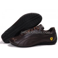 Mens Puma Drift Cat II Ferrari Brown 送料無料