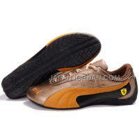 Mens Puma Drift Cat II Ferrari Golden Black Yellow 送料無料