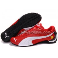 Mens Puma Drift Cat II Ferrari Red White Black 本物の