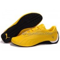 Mens Puma Drift Cat II Ferrari Yellow Black 送料無料