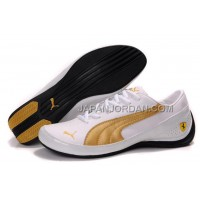 Mens Puma Drift Cat II SF White Golden 送料無料