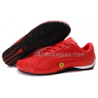 Mens Puma Ferrari 910 Red Black 本物の