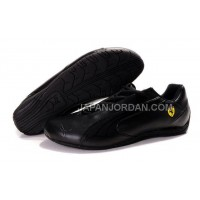 Mens Puma Ferrari 916 Black 本物の