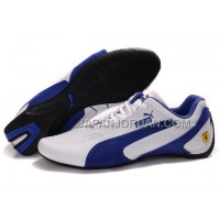 オンライン Mens Puma Fluxion II White Blue Black
