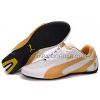 オンライン Mens Puma Fluxion II White Yellow