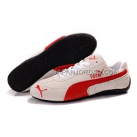 オンライン Mens Puma Fur 889 White Red Black